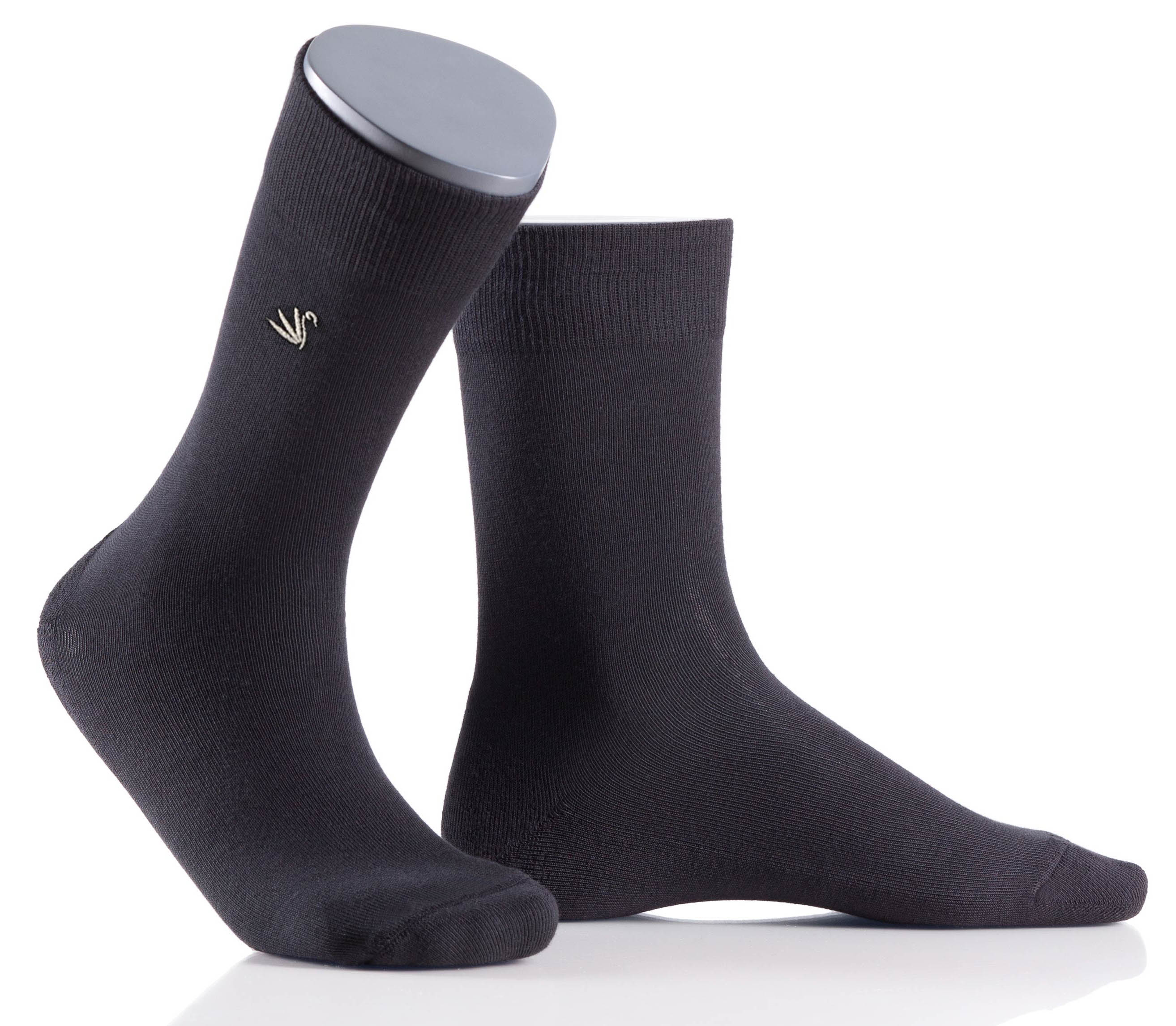Perfect Man - 3er Pack - Herrensocken mit dezenter Stickerei