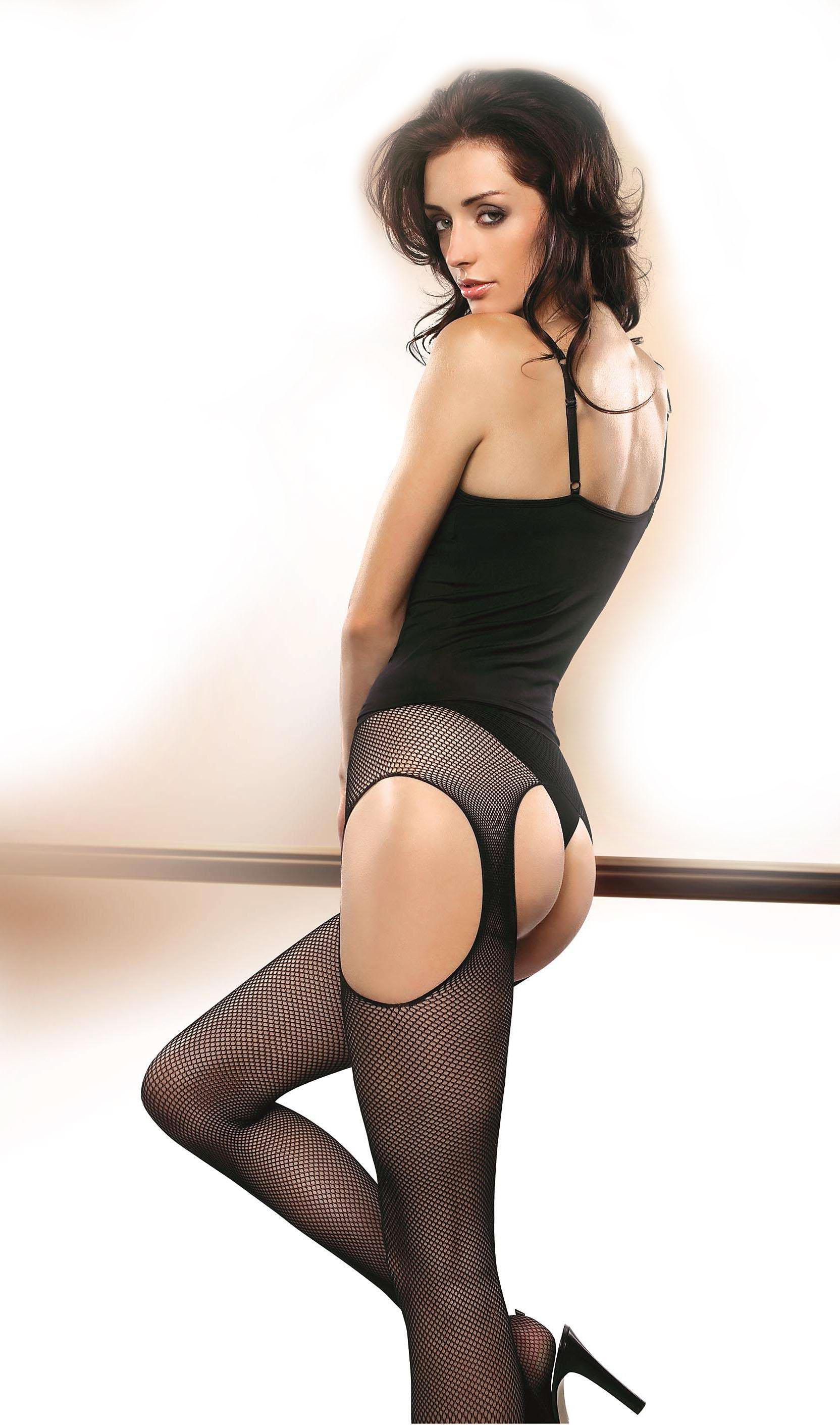 Gatta Babette 01 Rete Strip Panty