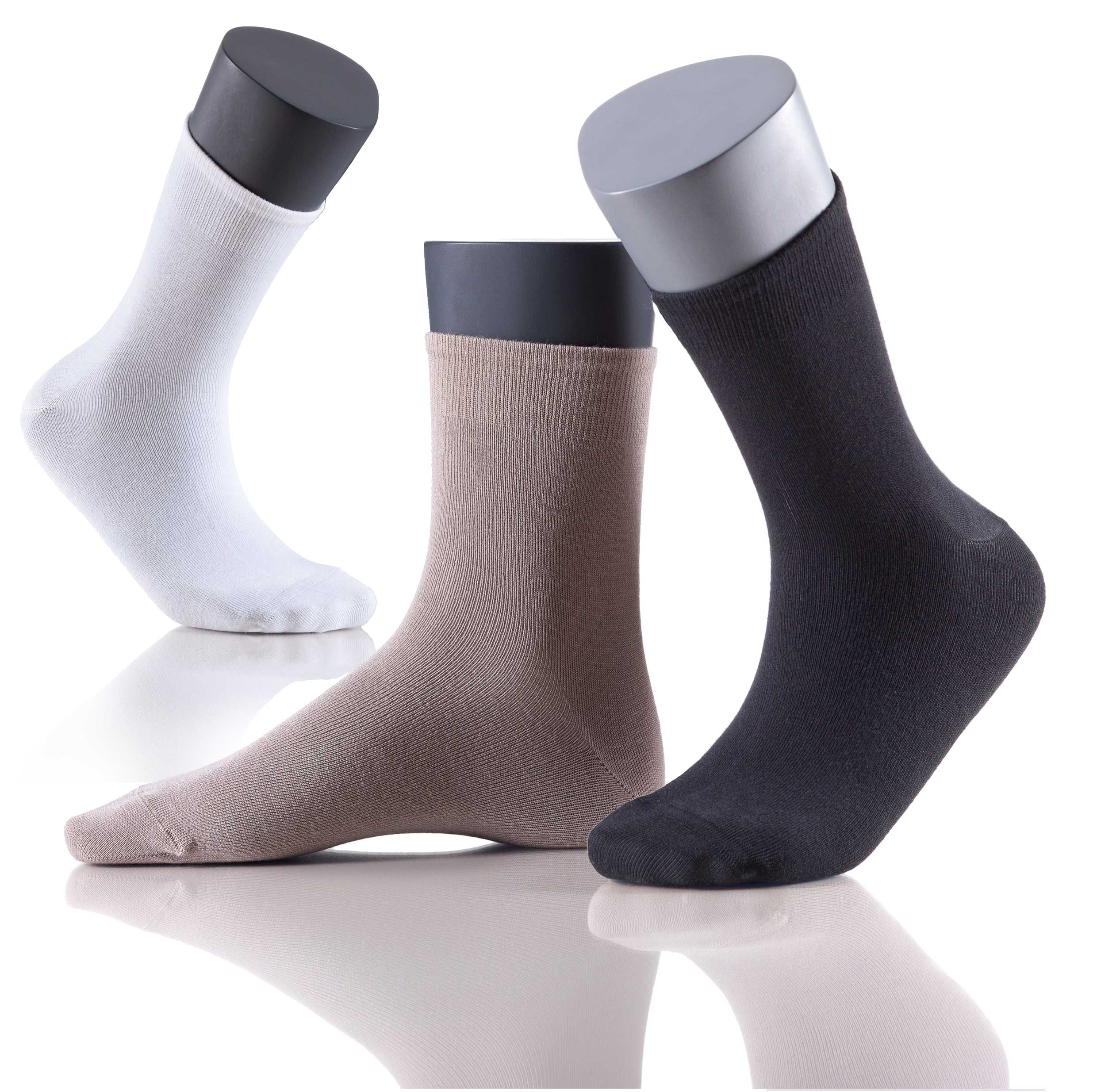 Perfect Woman Natural Bamboo Damensocken - 5er Vorteilspack