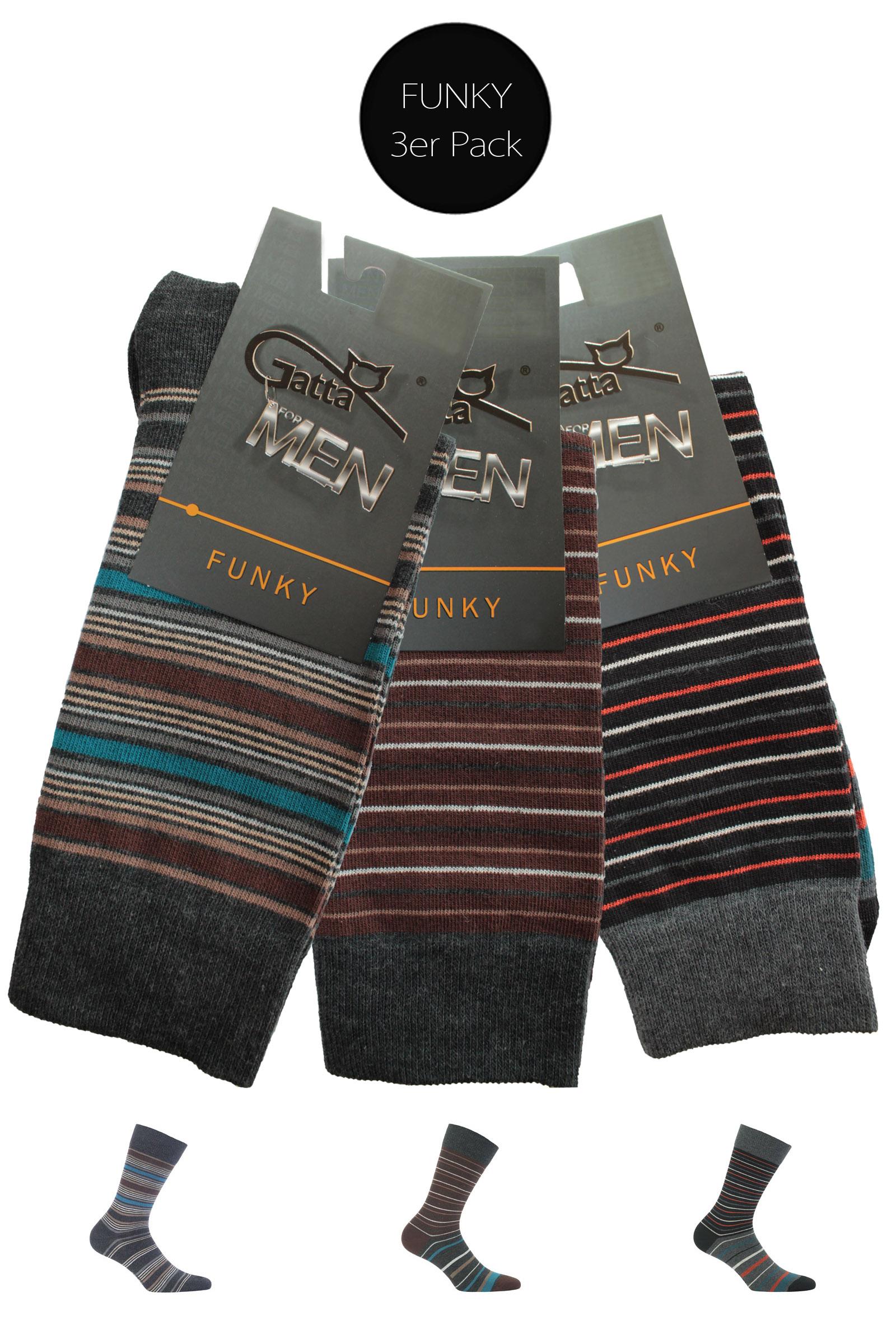 Gatta FUNKY Socken - 3er Pack